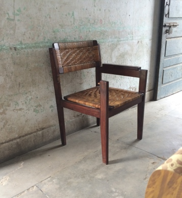 Unwanted guests inexplicably end up on this chair in the Kasur Irrigation office I did a lot of my research with.
