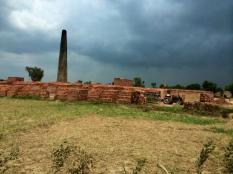 Brick kilns dotting the Lahore, Kasur rural periphery